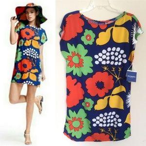 Marimekko Target Shift Dress Tunic Kukkatori NWT M